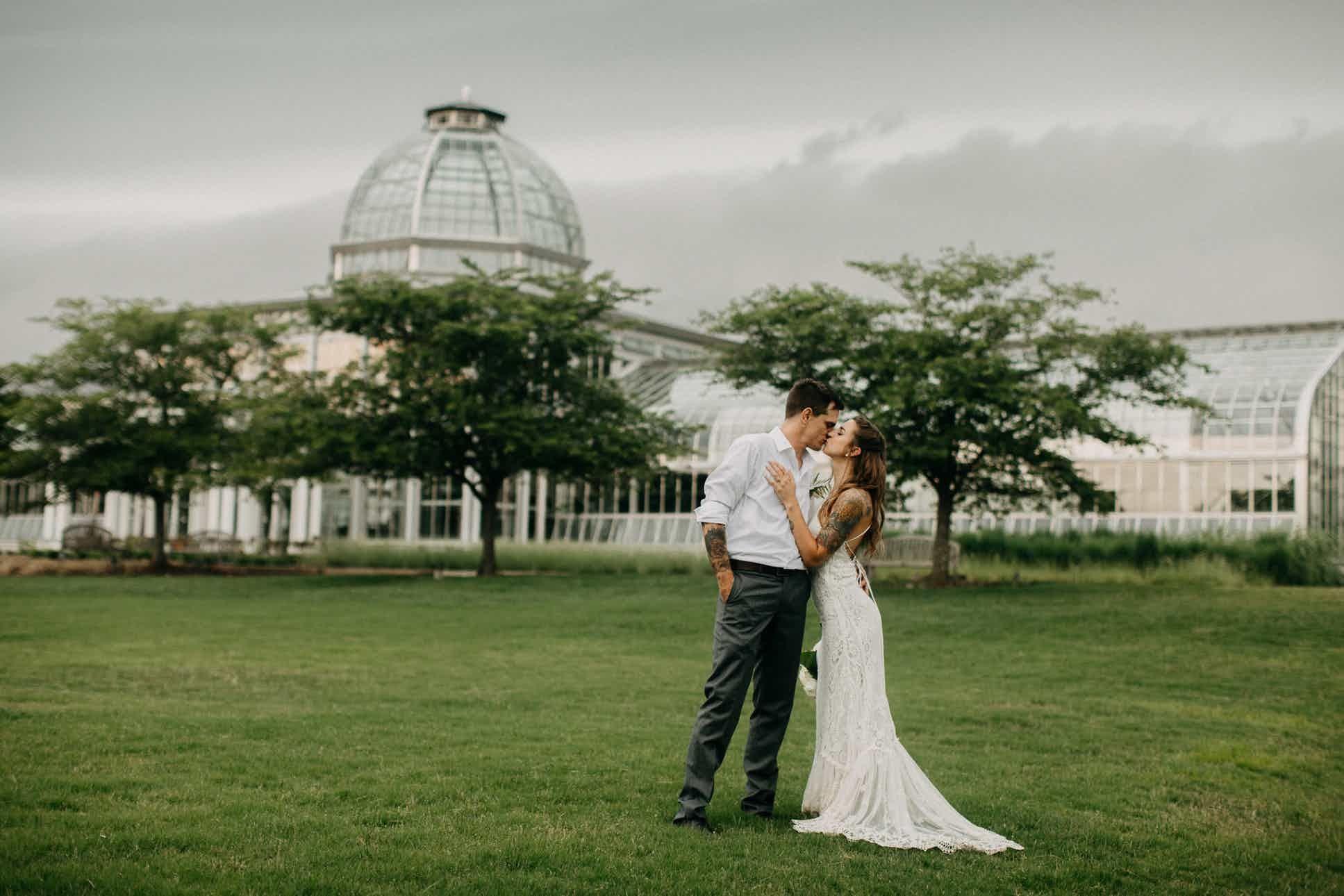 Lewis Ginter Botanical Garden Richmond, VA Wedding Site