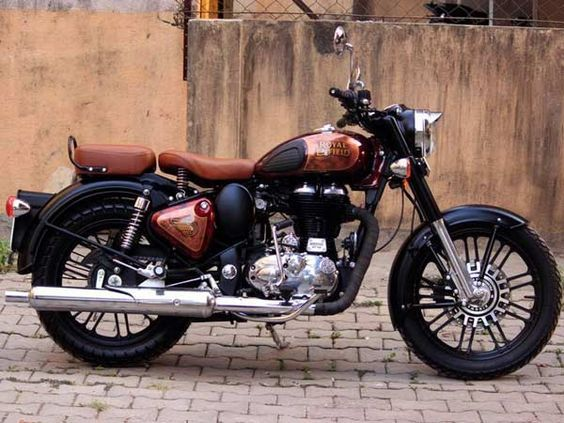 This Modified Royal Enfield Classic 500 Is A Looker Bullet Bike