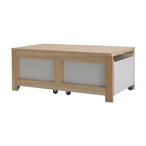 Ikea Coffee Table Storage Box: Coffee Table With Storage-brilliant!