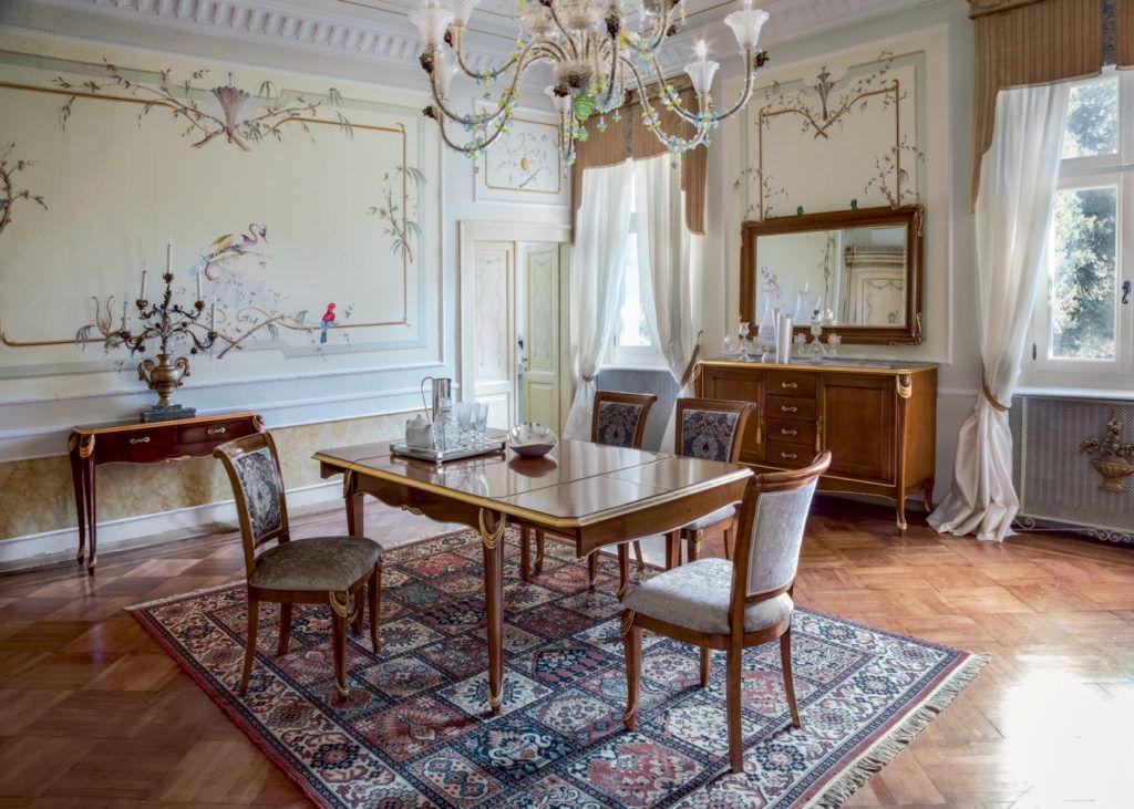 Tavolo stile classico modello Persia, Tonin Casa linea Classic ...