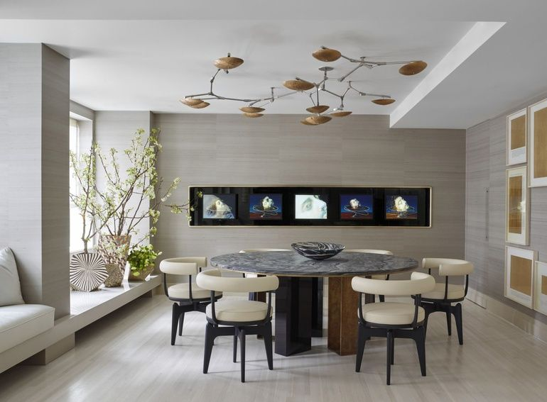 10 Questions With Kelly Behun Modern Dining Room Dining Room Design Modern Dining Room Decor Modern