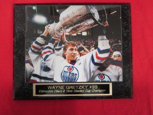 Glenn Anderson Oilers Plaque