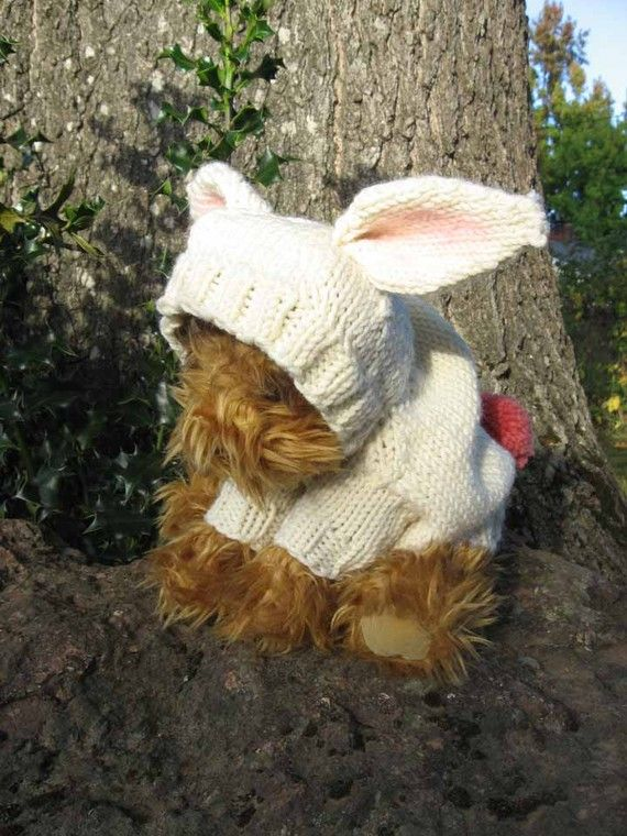 Bringing Home Puppy Sweater and Hoodie Knitting by birdinanest