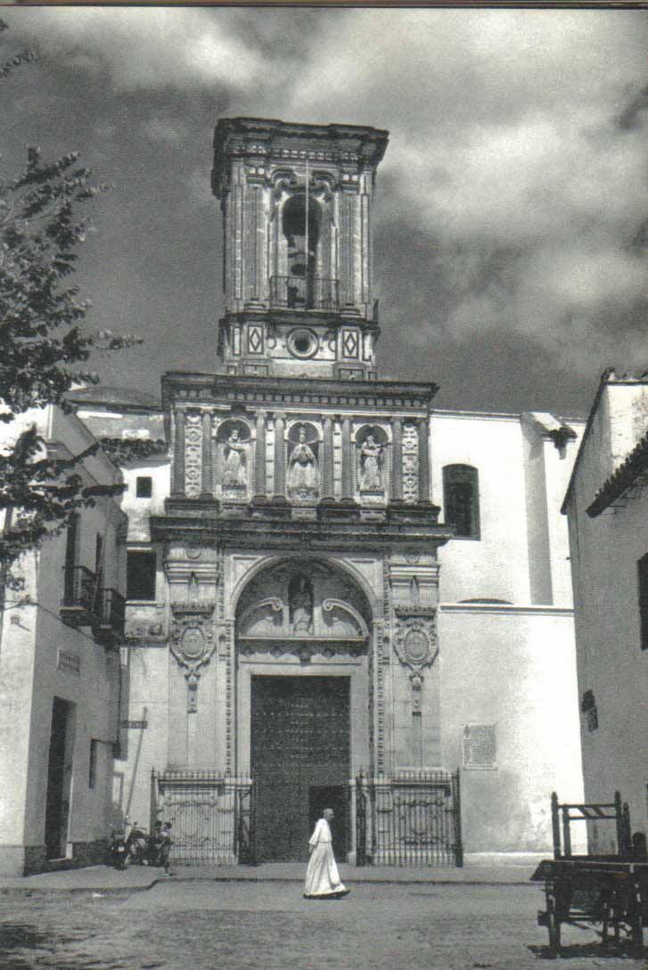 Basílica De La Merced Año 1960 La Torre Campanario No Está Desde Mediados De Los 60 Fotos Antiguas Fotos Andalucia España