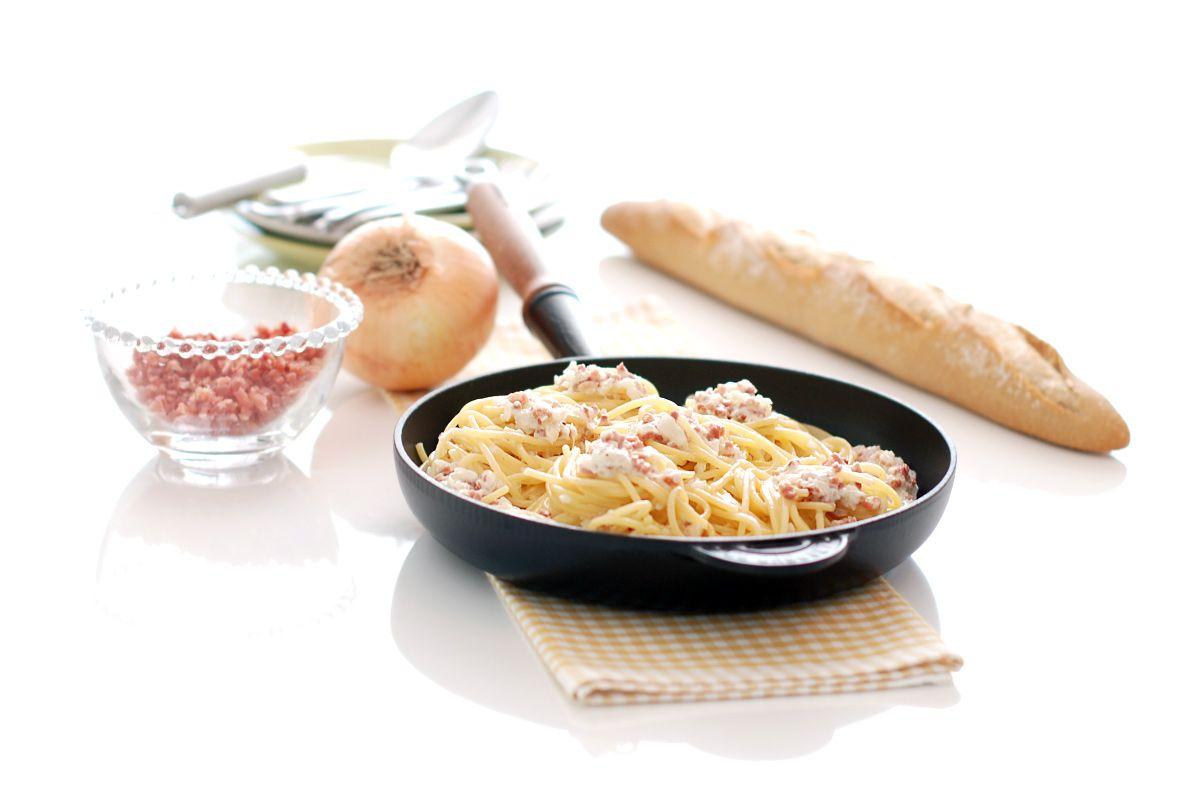 Espaguetis A La Carbonara De Nata Recetas Para Cocinar Recetas