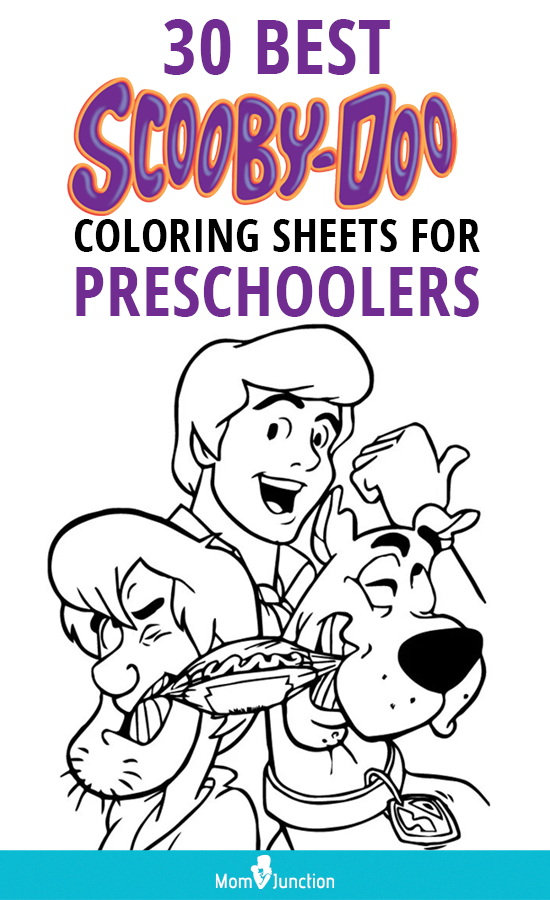 Top 30 Free Printable Scooby Doo Coloring Pages Online ...