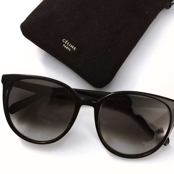 651d383c252e Celine Thin Mary Sunglasses CL 41068 S Worn multiple times but in good  condition still. Just not my style anymore. Black with dark gray lens