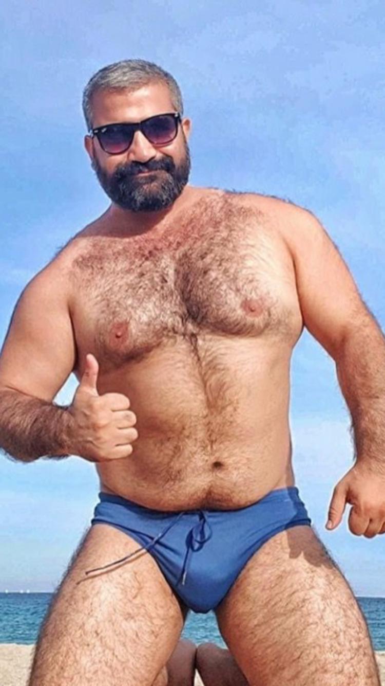 Bear chaser chubby daddies man