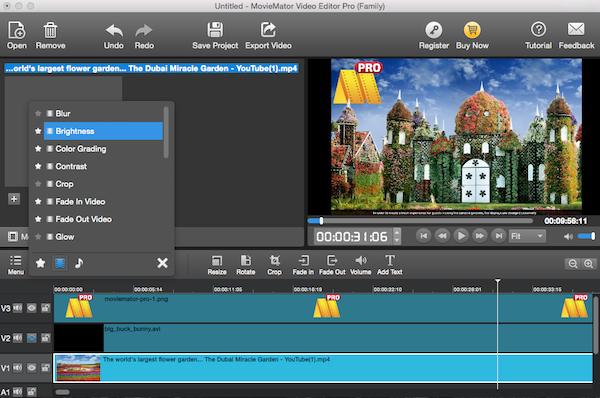 Mac Video Editor MovieMator Pro   Audio-Video, Slides