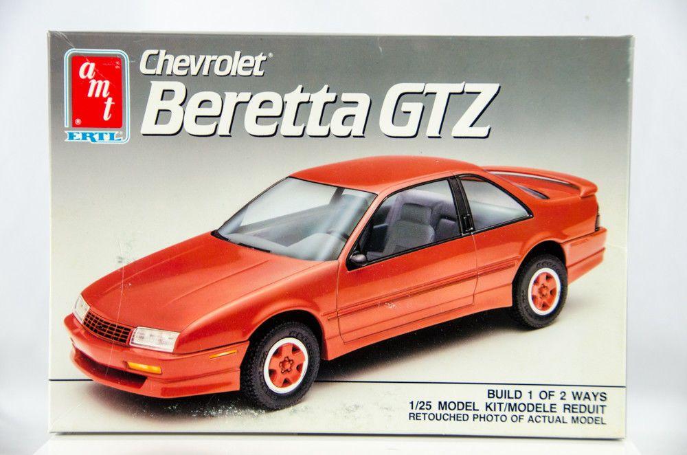 Details zu Vintage AMT Chevrolet Beretta GTZ 1/25 Scale Model Car