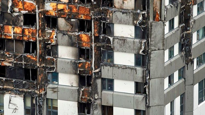 Some U.S. States Relax Restrictions On Cladding Suspected In Grenfell Tower Fire  : NPR