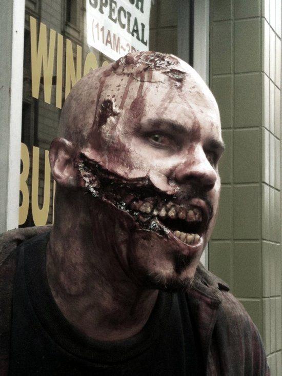 Slashed Zombie! Awesome!