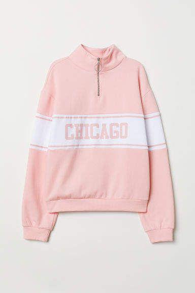 3aca70242 Sweatshirt with Collar in 2019 | Products | Collared sweatshirt ...