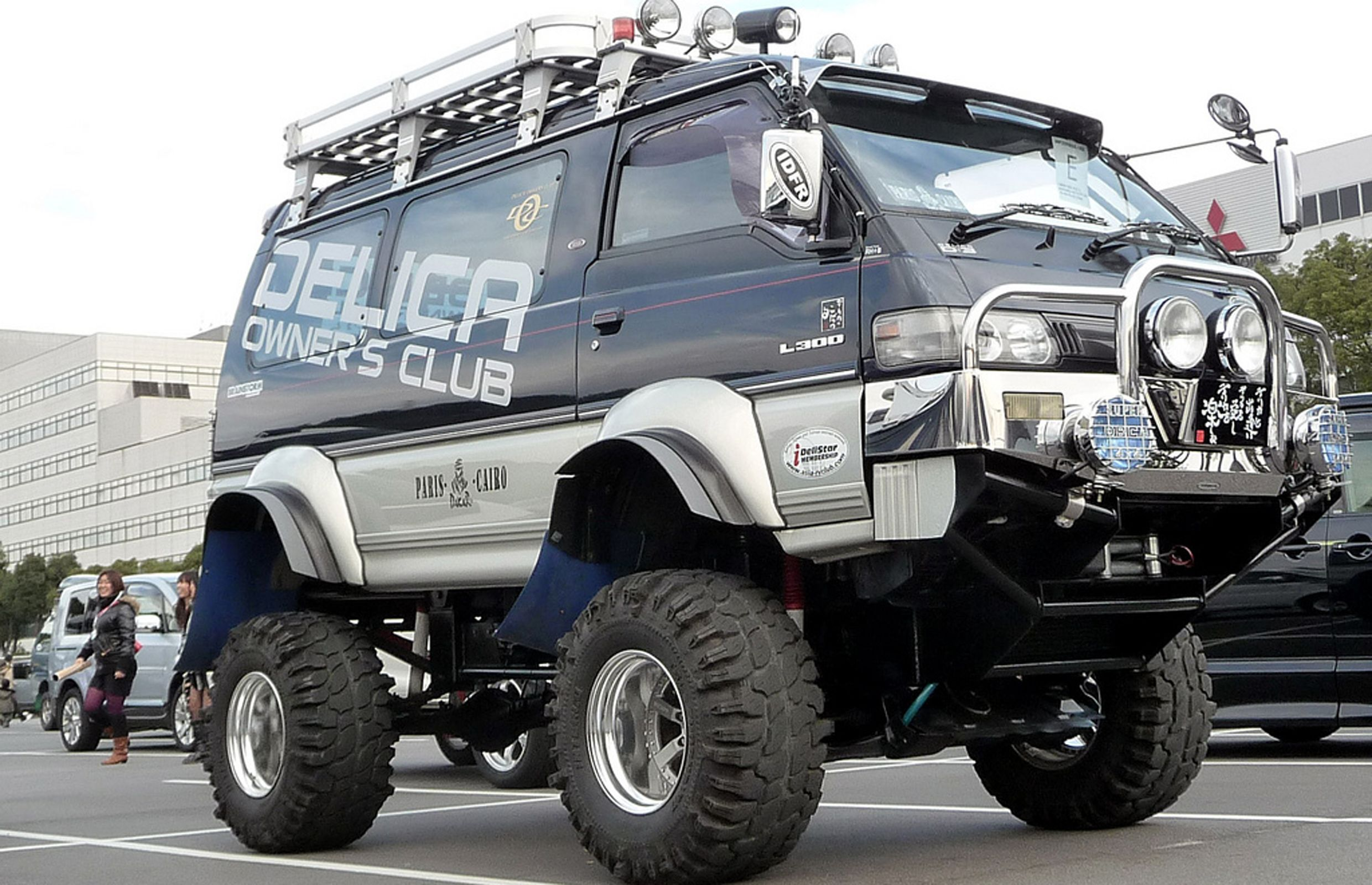mitsubishi delica l300 off road kit pinterest land rovers and 4x4. Black Bedroom Furniture Sets. Home Design Ideas