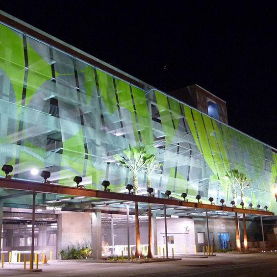 JFAK Architects : Parking de la police de Los Angeles