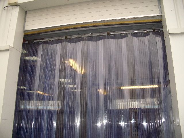 Photo Gallery Redwood Strip Curtains Energy Saving Industrial