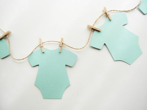 Mint Baby Shower Message Banner Wishes For By Jacqscraftycorner