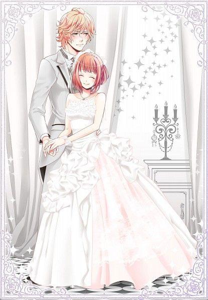 10d10bf10b7510dbb10c10b21014db10a.jpg (10×1000)  Anime wedding