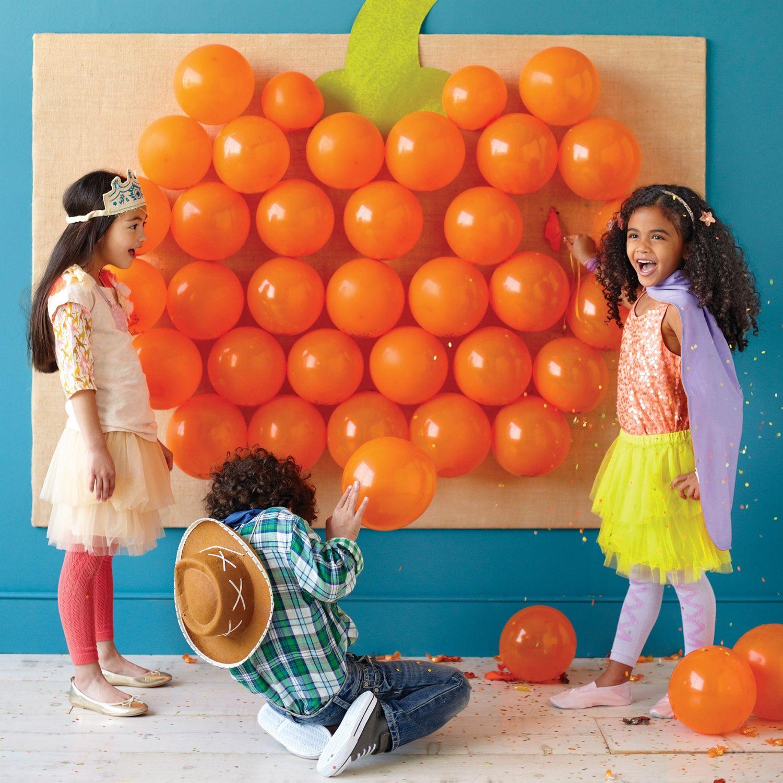 Halloween Games: Pop Goes the Pumpkin | Carnival games, Pumpkins ...