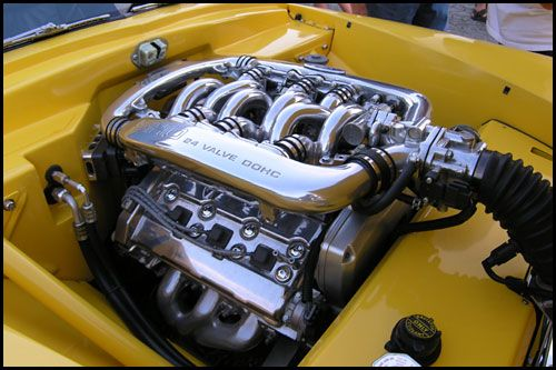 Customs Henry J Convertible The H A M B Engineering Ford Racing Engines Ford Taurus Sho