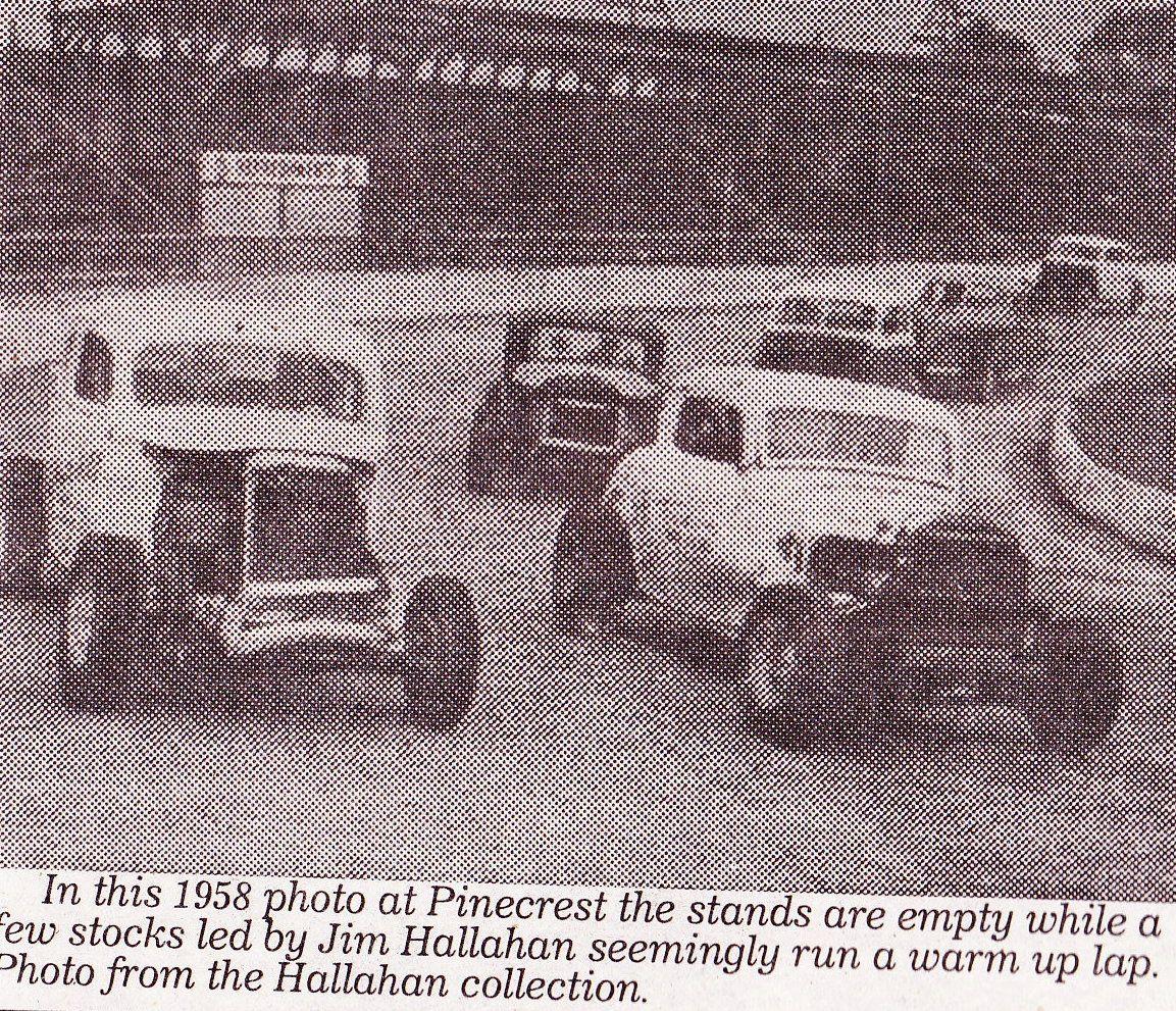 Pinecrest Speedway 1952 1976 Pinecrest Speedway Vintage Race Car