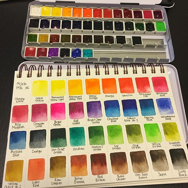 Instagram Media Vanityvamp Color Swatch From Mijello Mission