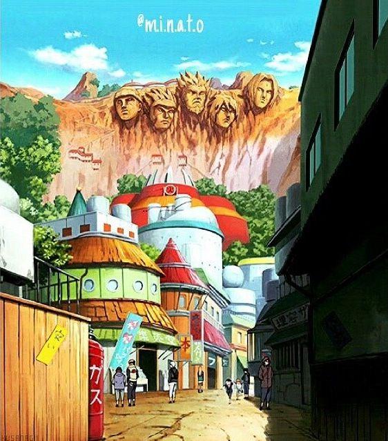 Konoha/Leaf Village | Anime naruto, Naruto shippuden, Naruto