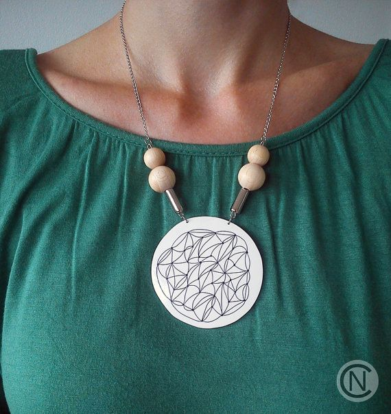 Handmade necklace with shrink plastic pendant and by ninacamisi handmade necklace with shrink plastic pendant and by ninacamisi mozeypictures Choice Image