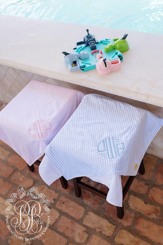 f79205f148bc3 Bishop Beach Towel - Pinckney Pink Stripe - The Beaufort Bonnet Company