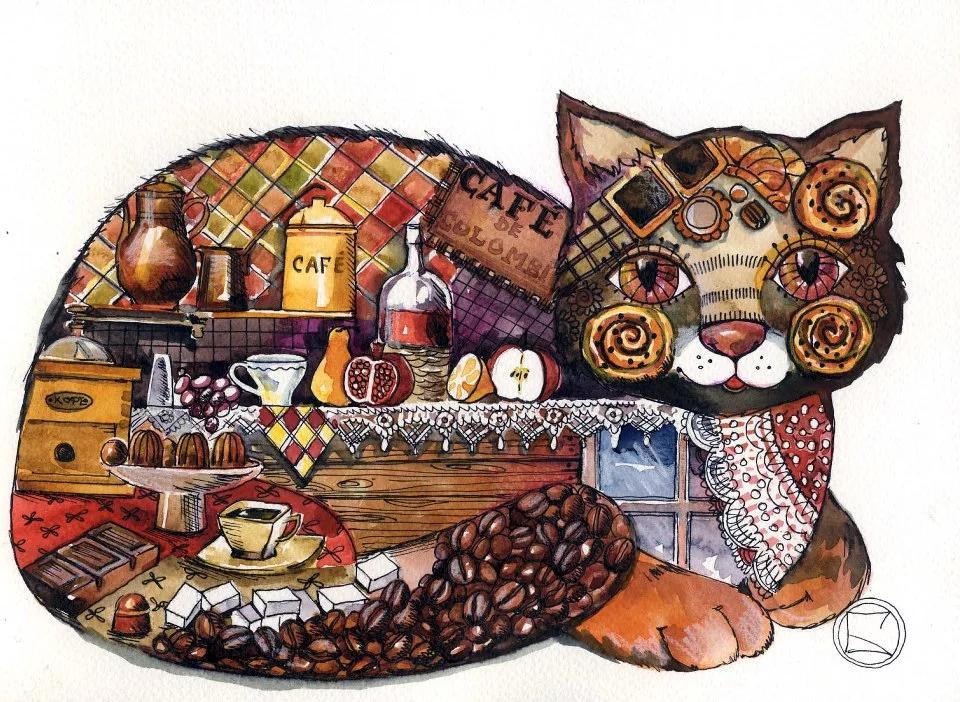 коты декоративные картины возглавила всевозможные хит-парады
