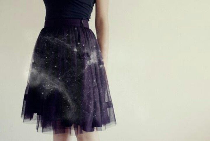 25a6bd252c2 Galaxy Tulle skirt. ♥