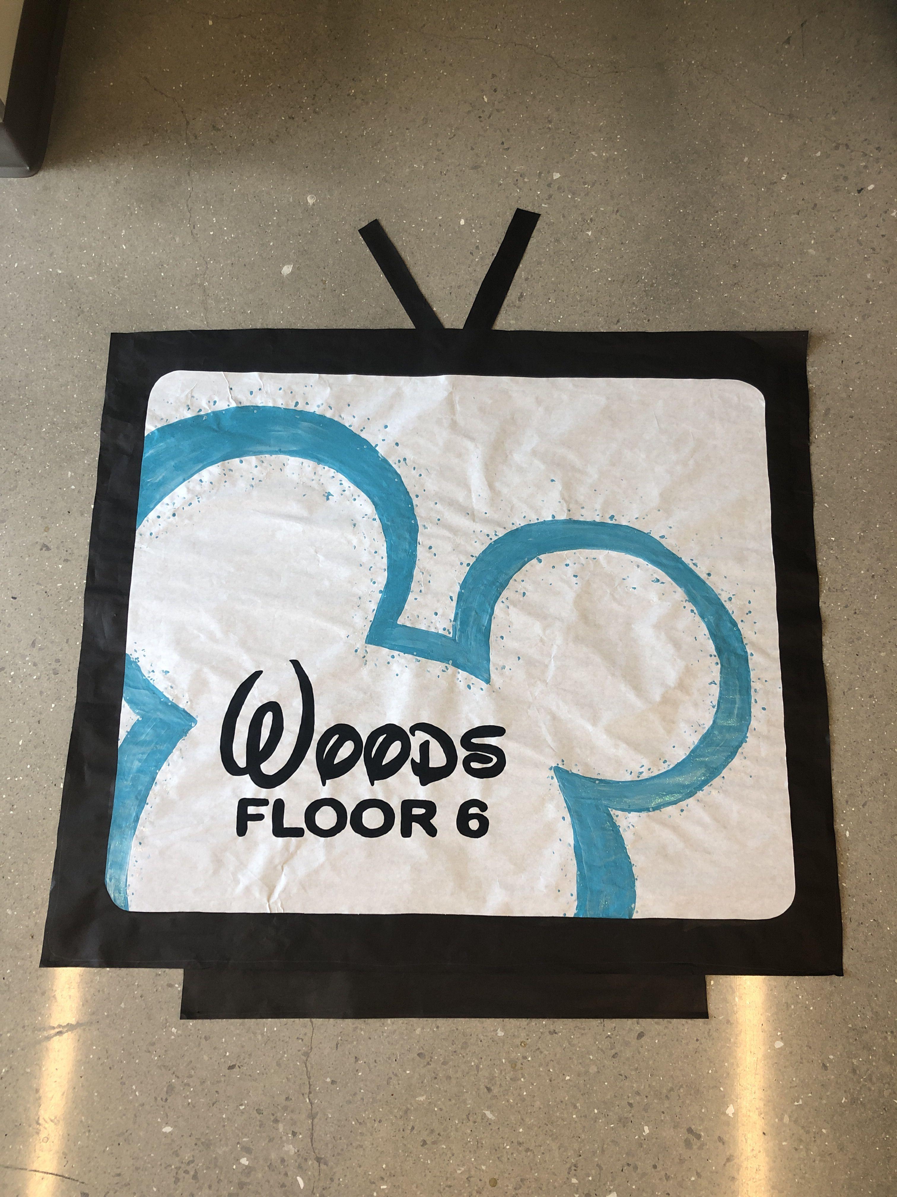 Disney Channel Floor Theme Ra Ra Themes Dorm Door Decorations Door Decorations College