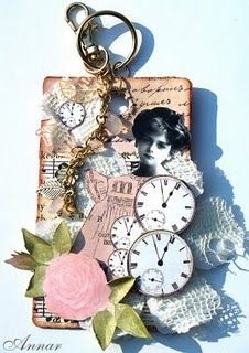Clock Faces ATC~Kaisercraft Design