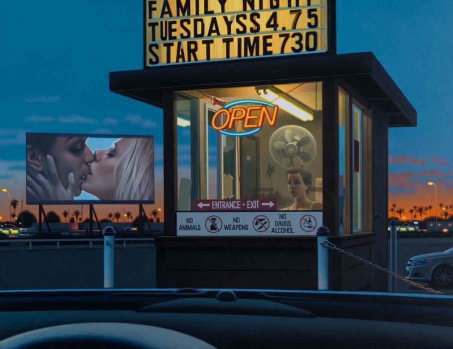 Drive In Movie Art Drive In Movie Drive In Movie Theater Drive In Cinema