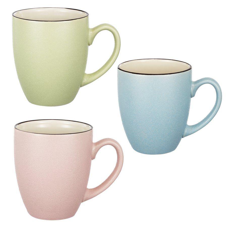 Rosemary Coffee Mug Set Of 3 With