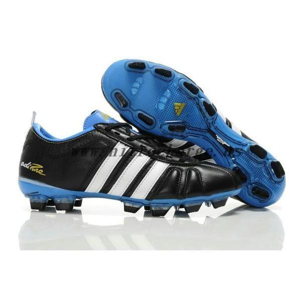 2012 Kaka Adidas Adipure IV Trx FG Black White Blue Soccer Cleats