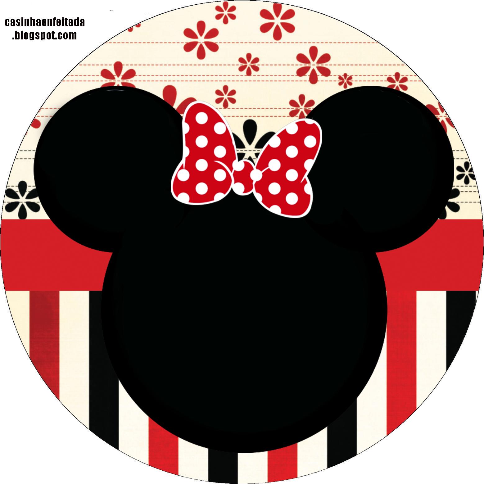 Artesanato Suely Mooca ~ Kit Festa Minnie Vermelha Para Imprimir Grátis Minnie vermelha, Kit festa e Imprimir