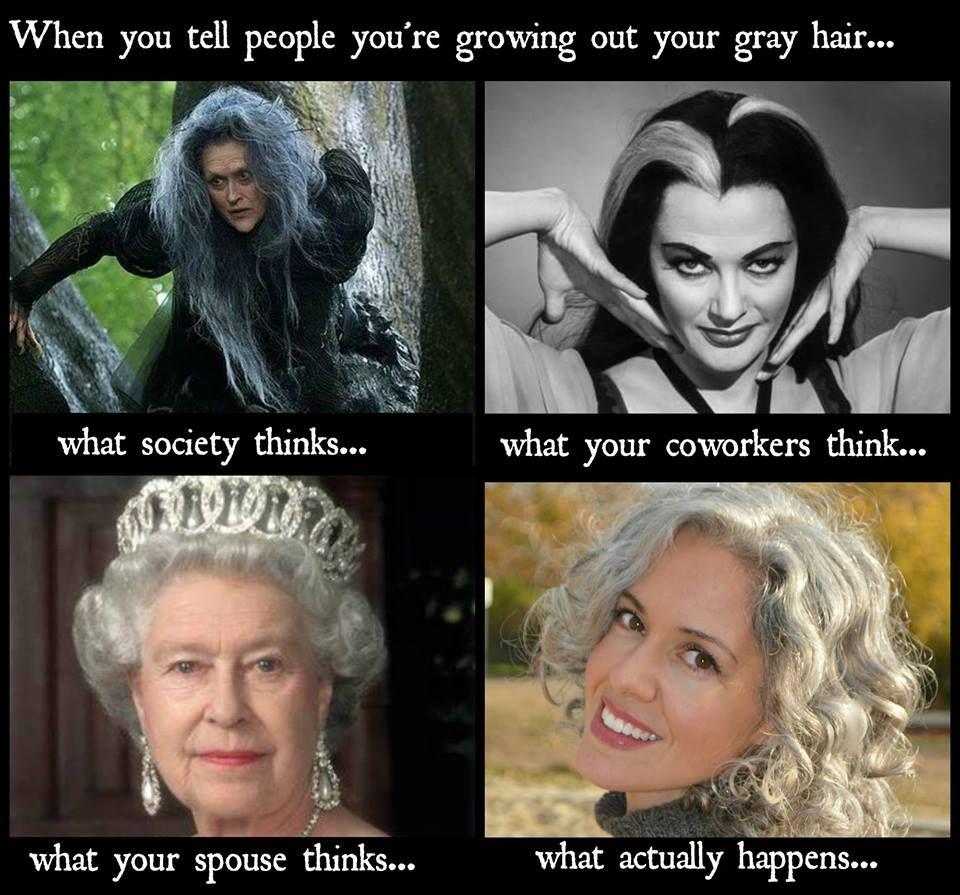 White Hair Dry Shampoo Meme