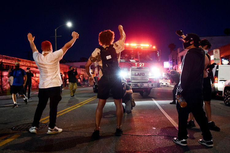 We Re Sick Of It Anger Over Police Killings Shatters Us Nbc Bay Area Black Lives Matter Black Lives George