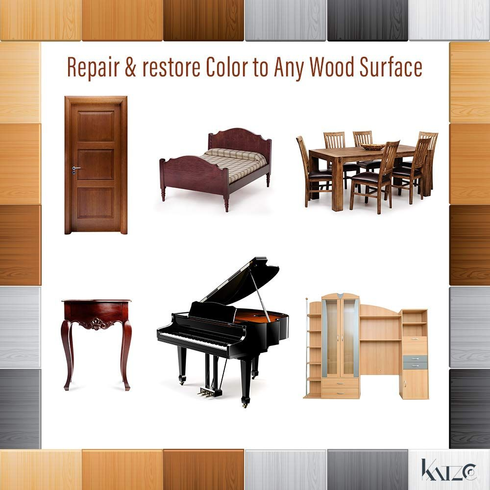 Furniture Repair Kit Wood Markers Set Of 13 Markers And Wax Sticks With Sharpener Kit For Stains Scratche Furniture Repair Wood Markers Scratched Wood Floors