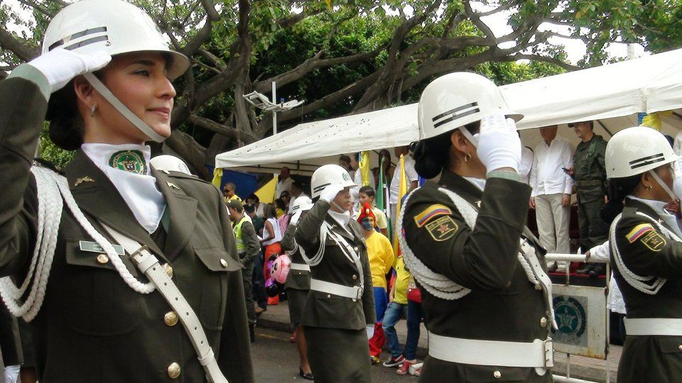 Army | Colombia | Miliwoman