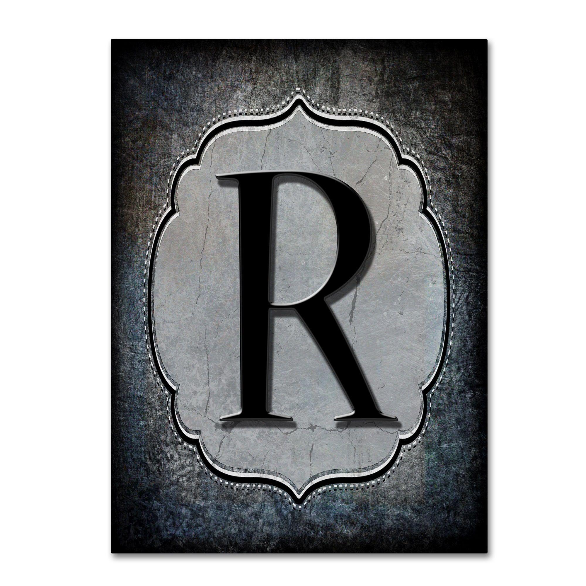 Lightboxjournal Letter R Canvas Art