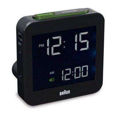 55 Braun Digital Travel Alarm Clock Bn C009 Braun Digital Clock Travel Alarm Clock Alarm Clock