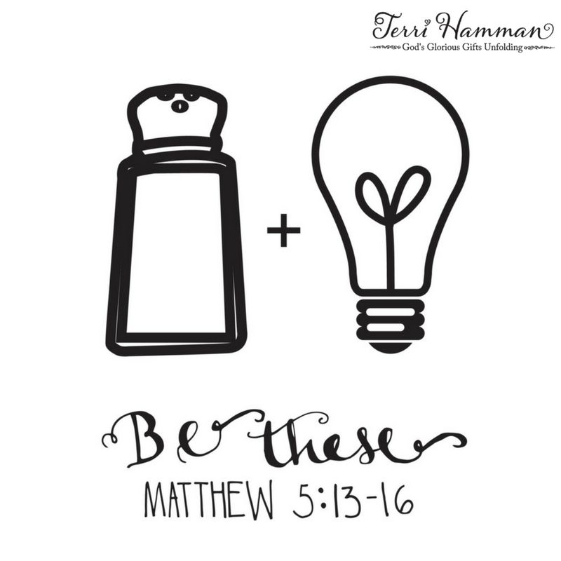 Lessons from Matthew 5: Salt and Light | Things I should do ...