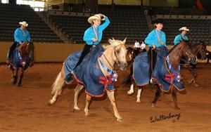 U.S. is Golden with Young Riders & Juniors in SmartPak Reining Championships;