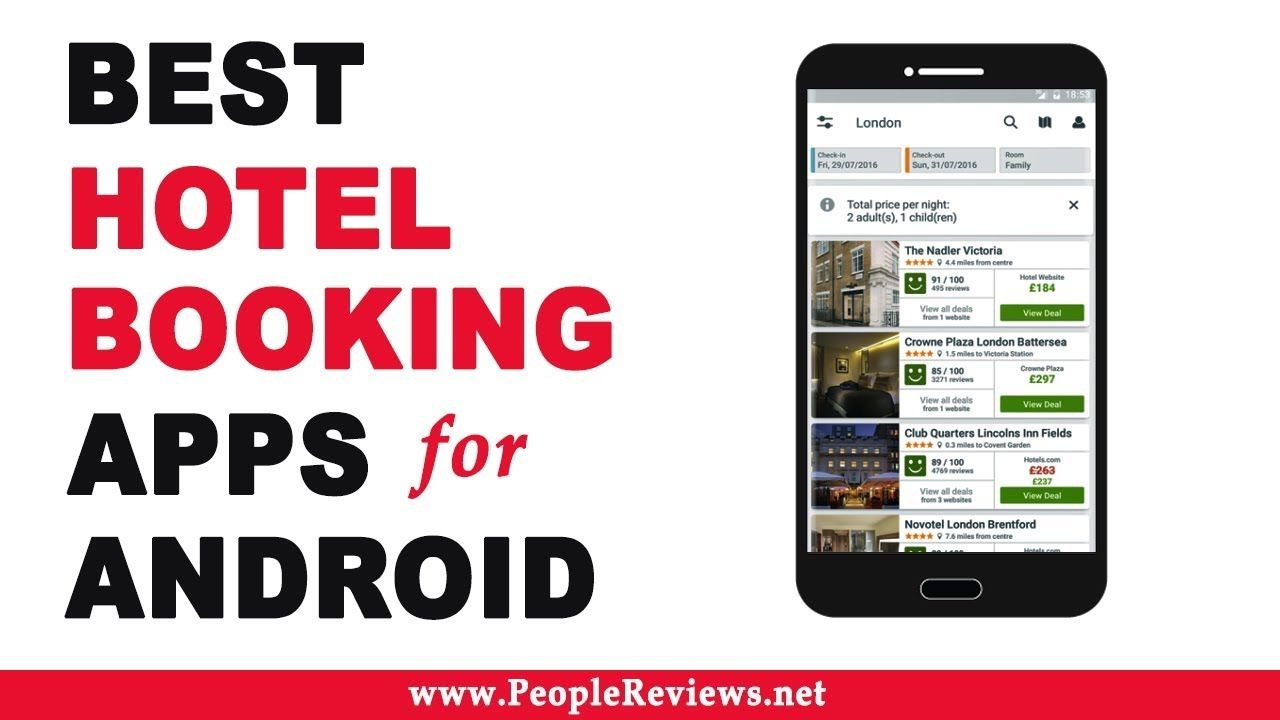 Best Hotel Booking Apps For Android Top 10 List With Images
