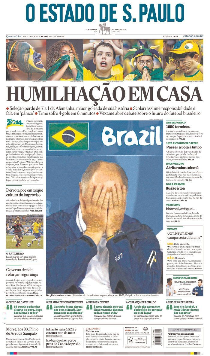 The Front Pages Of Brazil's Newspapers Are Brutal | Brazil