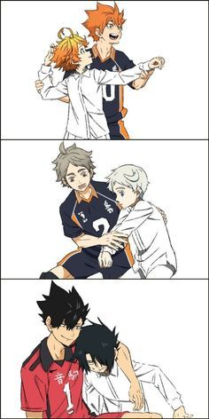 the promise nevermind 😂 | Anime crossover, Haikyuu