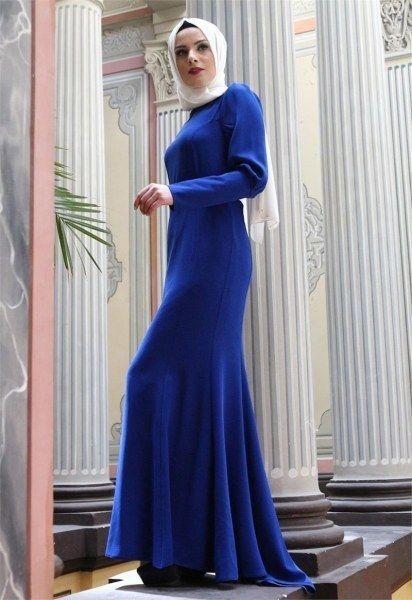 Tuna Balik Model Abiye Tesettur Elbise Saks Elbise Elbise Modelleri Giyim