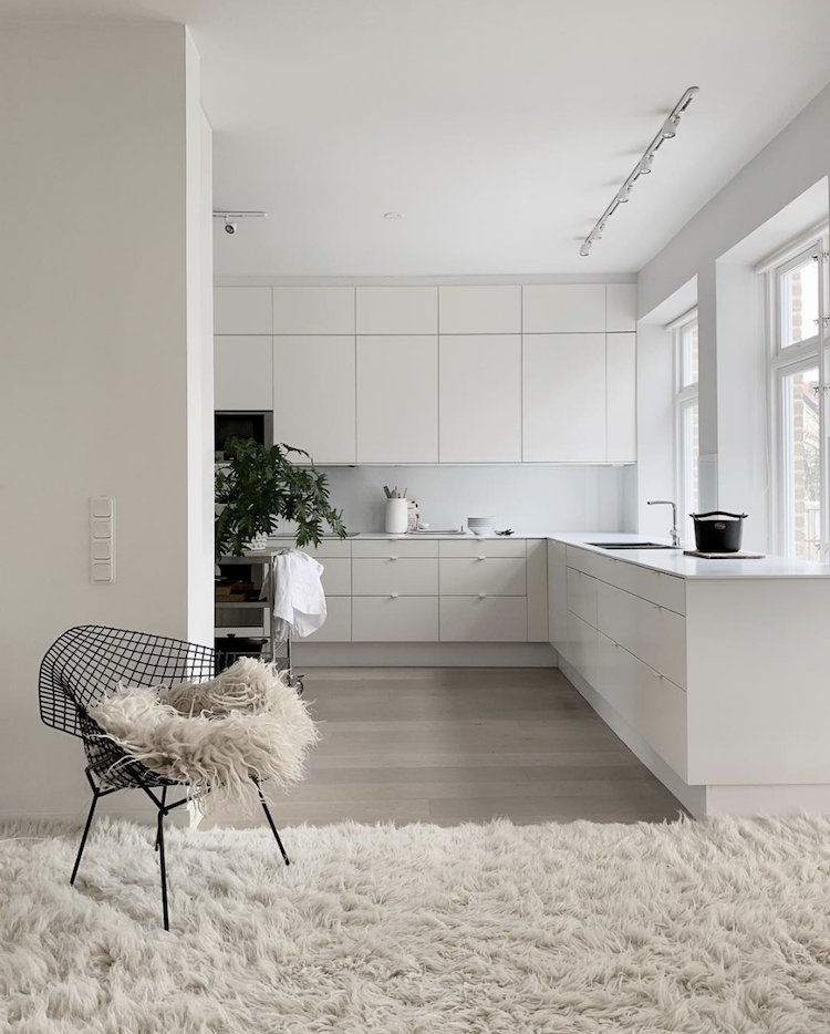 Fifty Shades Of White In A Beautiful Swedish Home White Interior White Interior Design Design Your Home